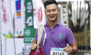 Đức Tuấn quyết chinh phục cự ly 21 km tại giải chạy Huế